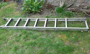 Echelle de toit alu à crochets longueur 2.30 m avec crochets