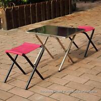 Portable Outdoor Camping Folding Desk Hiking Picnic Folding Table Desk B4k2