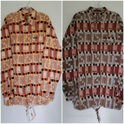 2 Willie Esco Button-up Shirts Men XXL Branded Col