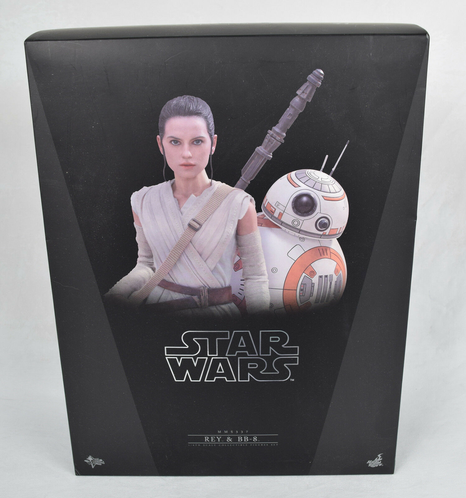 Star Wars Force Awakens Rey BB-8 1/6 Action Figure Hot Toys MMS337 New