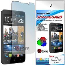 3 Pellicola Per HTC Desire 516 Proteggi Salva Schermo Display