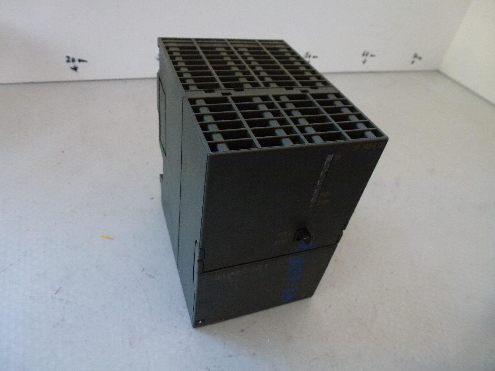 Siemens 6GK7342-5DA00-0XE0, 6GK7 342-5DA00-0XE0, CP 342-5 DP, E-Stand 10