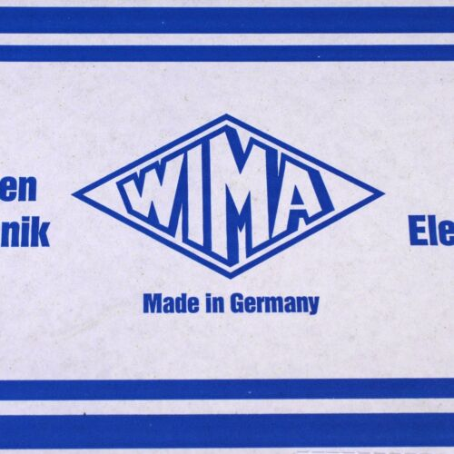 10 each WIMA 0.47uF 0.68uF 1.0uF Metalized Polyester Capacitor MKS2