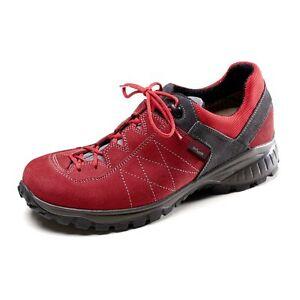 Owney Schuhe Balto low Größe 40 Anthrazit-rot