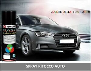 spray-spray-erneuert-Auto-amp-Motorrad-Farbe-400-ml-Fiat-589-in-grau-Silber-VI