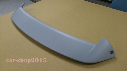 REAR SPORT TYPE SPOILER ABS FOR SUZUKI SWIFT 2011-2014 5D HATCHBACK Primed