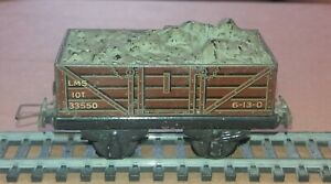 Trix TTR LMS 10T 5-Plank Open Wagon 33550 with Load - OO Gauge - Free Postage