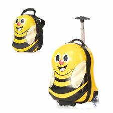 Bumble bee Design Children's Travel Luggage Suitcase & Backpack Hard Shell