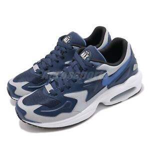 Nike-Air-Max2-Light-Navy-Blue-White-Grey-Men-Running-Shoes-Sneakers-AO1741-400