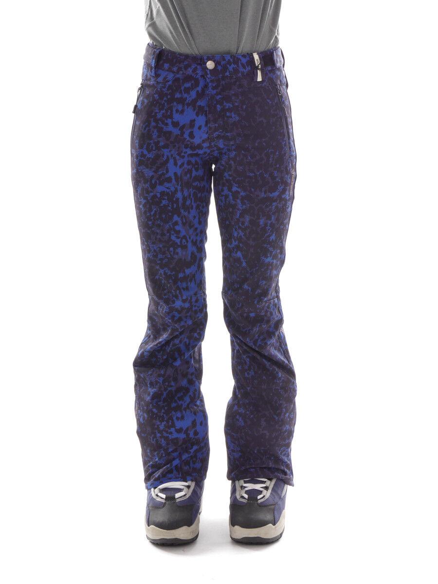 Brunotti pantaloni da da da sci e da snowboard Pantaloni da neve blu Hattie aderente 443f71