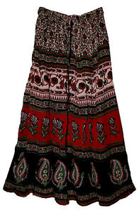 India-Skirt-Waist-Women-Dress-Long-High-Low-Maxi-Tutu-Short-Full-Ethnic-Boho-Wef