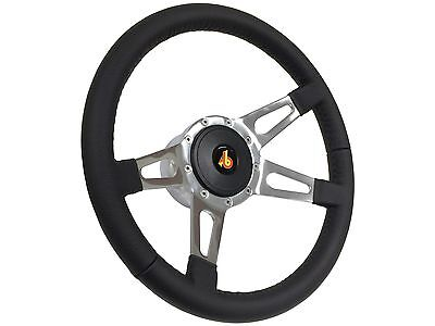 1968-1991 Ford S9 Sport Leather Steering Wheel KitSlotted 4-Spoke