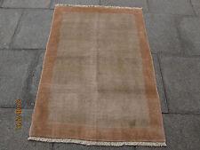 Fatto a mano tradizionale Persiano Orientale Gabbeh Tappeto Lana Beige 145x105cm