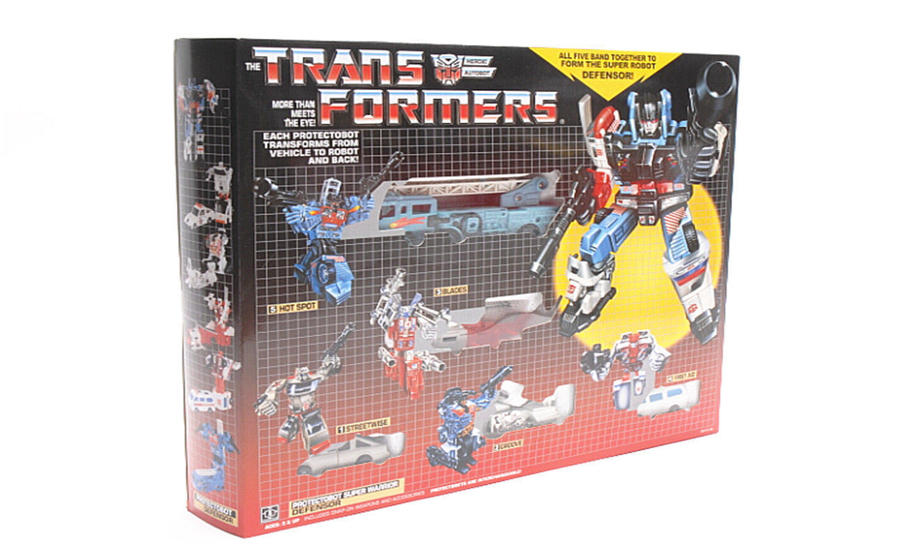 TRANSFORMERS G1 DEFENSOR AUTOBOT Gift Kids Toy Action Figure Christmas Reissue