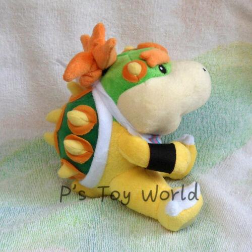 "Bowser JR 6/"" #P Mario Plush Doll Figure Toy #SM"