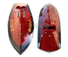 Miss Canada IV Class Hydroplane - Handmade Wooden Classic Boat Model NEW