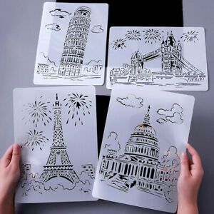 Educational-Toy-For-Children-Hand-Drawing-Stencil-Tools-DIY-Photo-Novelty-Toy-YK