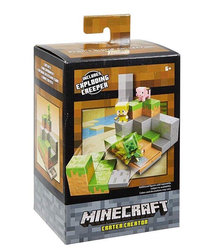 Mattel Minecraft Crater Creator Environment Playset