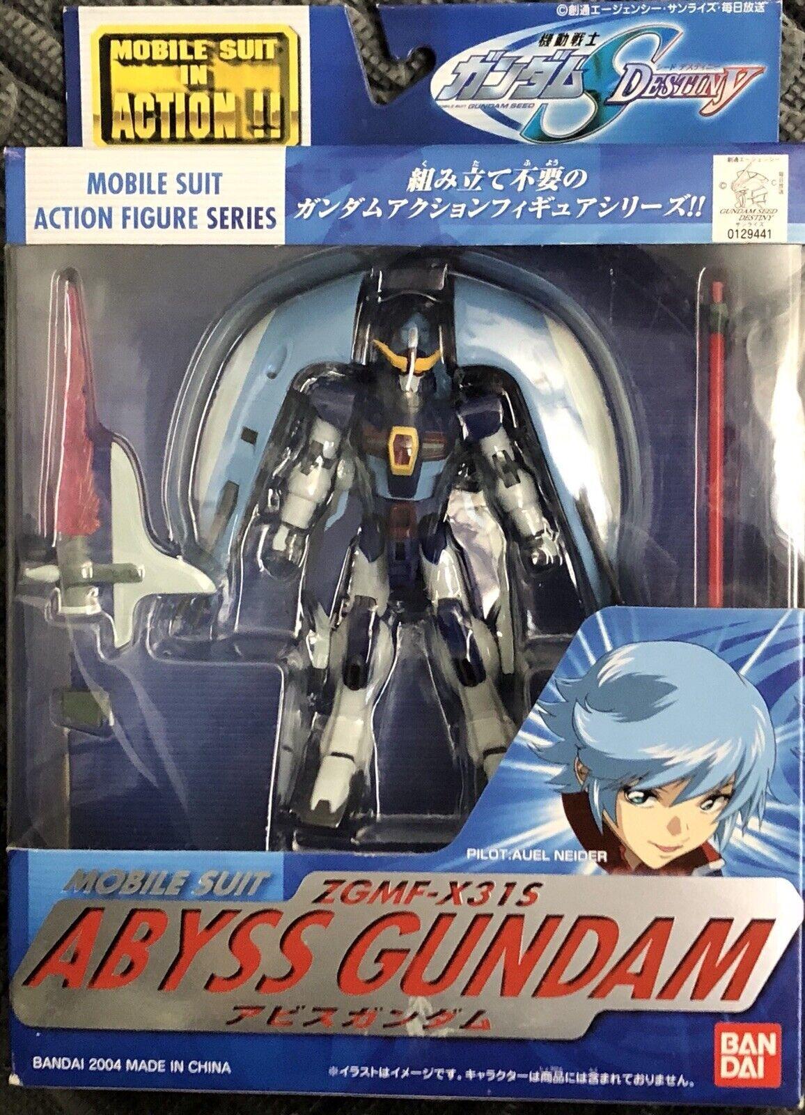 Bandai Gundam Seed Advanced MS I Action Abess Gundam Action Figur MSIA Lot