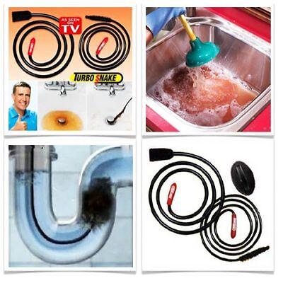 Turbo Sink Snake Abflussentstopfer Rohrreinigung Abflussreiniger Rohrreiniger Xx Taille Und Sehnen StäRken