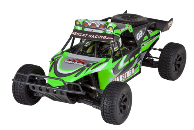 Redcat Racing Sandstorm 1/10 Scale Electric Baja Buggy RTR 4X4 - green