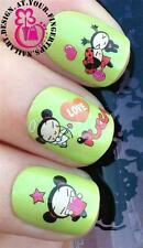 NAIL ART WATER TRANSFERS STICKERS DECALS SET PUCCA GIRL KAWAII ANIME FIGURE #456
