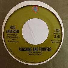 ERIC ANDERSEN Sunshine and flowers / sittin in the sunshine 7435