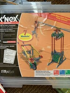 K'nex Intro to Simple Machines: Levers and Pulleys Set and ...