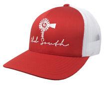 289ba7ef2 Old South Tobacco Leaf Embroidered Unisex Mesh Back Trucker Hat ...