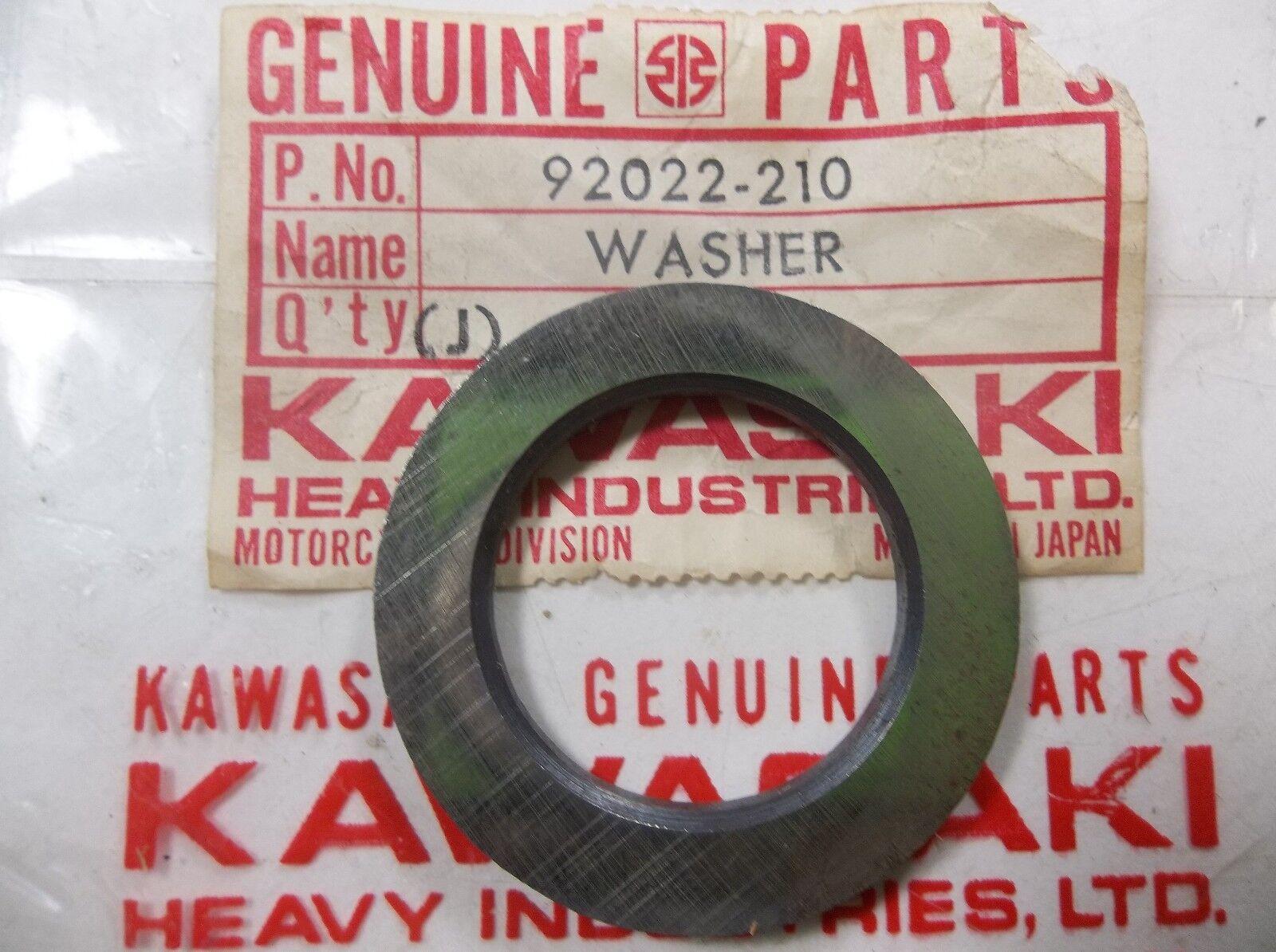 Kawasaki Z1 KZ900 KZ1000 Plain Washer 92022-210 NOS