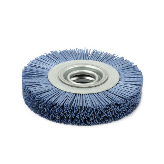 80mm Gray Nylon  Abrasives polish Grinding Wheel Grinder Abrasive Rotary Tool