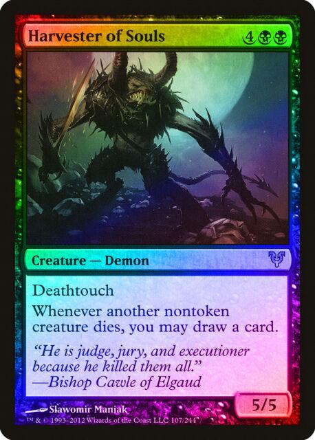 Shadowborn Demon FOIL Magic 2014 M14 NM Black Mythic Rare MTG CARD ABUGames