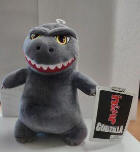 "KIDROBOT Godzilla 8"" Phunny Plush Monster Gray KR14297"