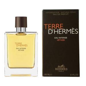 Details zu Hermes Terre d'Hermes Eau Intense Vetiver Edp Spray for Men 100ml NEUOVP