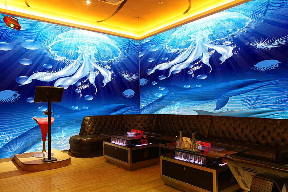 Beautiful Jellyfish 3D Full Wall Mural Photo Wallpaper Printing Home Kids Decor
