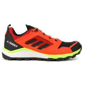 adidas-Men-039-s-Terrex-Agravic-TR-Black-Solar-Red-Trail-Running-Shoes-EF6859-NEW