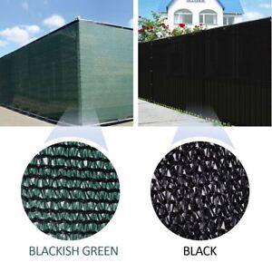 Dark-Green-Black-Fence-Privacy-Screen-Outdoor-Backyard-Windscreen-Shade