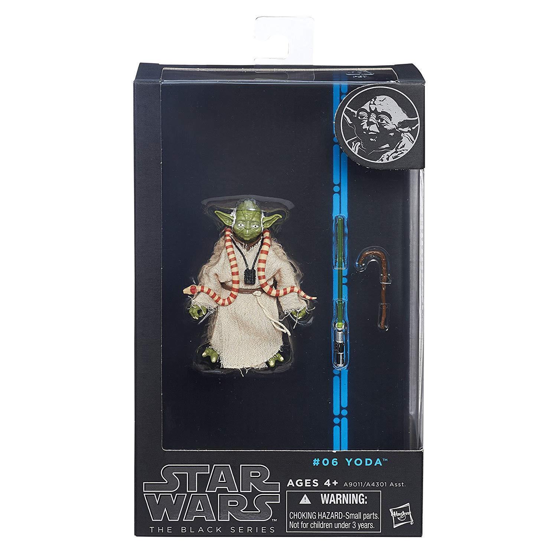 Guerra DE LAS GALAXIAS la serie negra Yoda 3 figura 06