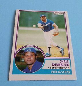1983-O-Pee-Chee-Baseball-Chris-Chambliss-Card-11-Atlanta-Braves