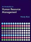 An Introduction to Human Resource Management by Wendy Bloisi (Paperback, 2006)