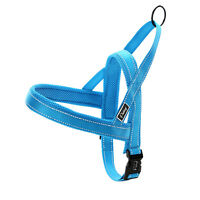 Durable No Pull Reflective Stitching Pet Dog Harness Nylon Quick Fit Adjustable