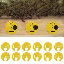 12 Pcs Beekeepers Bee Hive Nuc Box Entrance Gate Beekeeping Equipment plastic TW