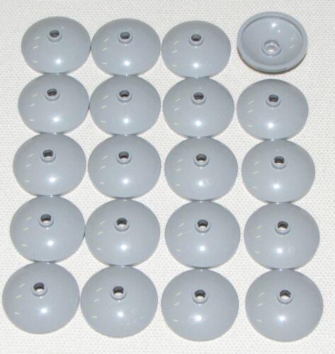Lego Lot of 20 New Light Bluish Gray Dish 3 x 3 Inverted Radar Parts