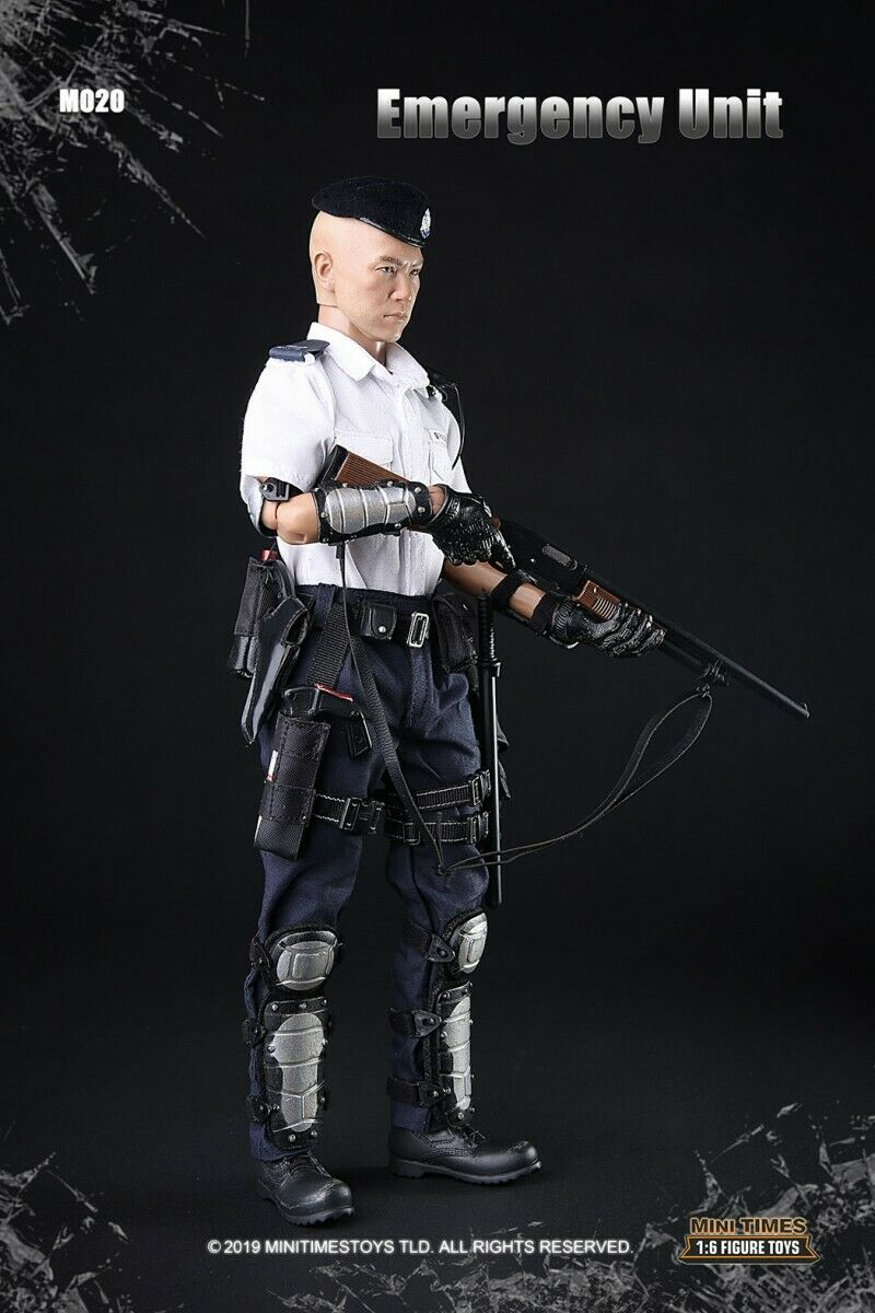Mini times toys M020 1//6 Proportional Soldiers Hong Kong Emergency Unit Figure