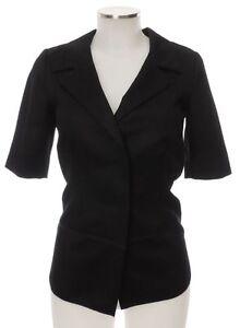 Black i 34 Prada d cashmere come corte con maniche a nuovo in 38 cardigan Top Jacket Giacca xY5H4wt4q