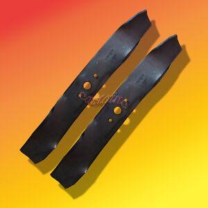 """38/"""" Cut Mower Blades Fit Cub Cadet #/'s 759-3829 742-3032 942-3032 Set of 2"""