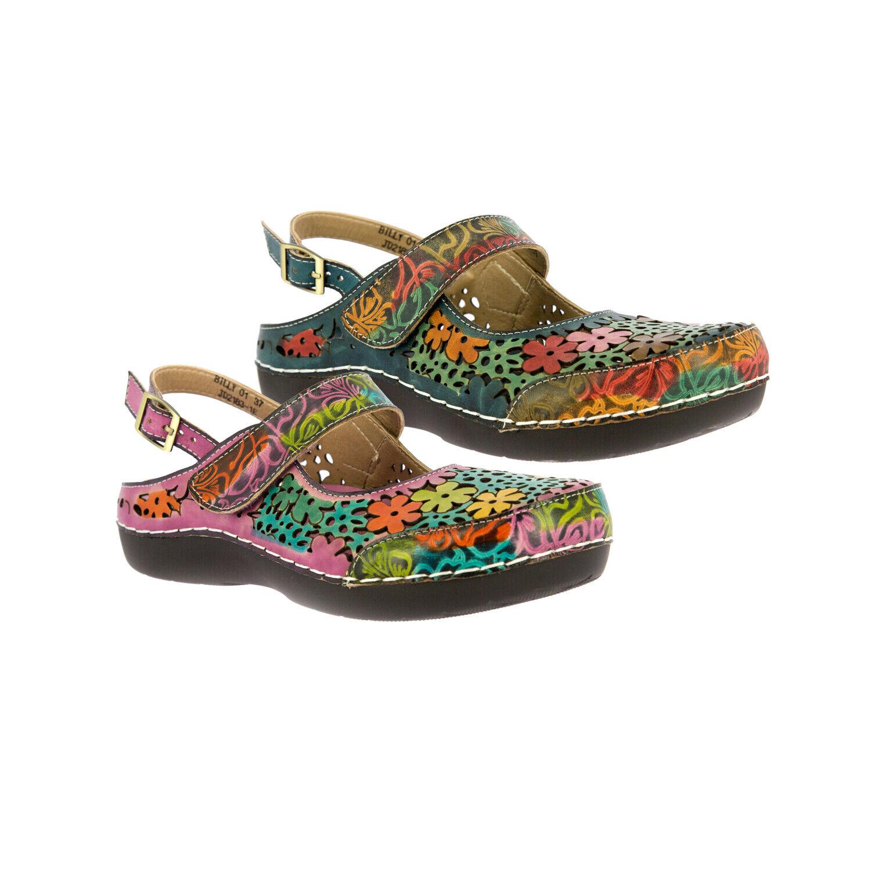 Laura Vita JD2183-1E Bicllyo 01 Damen Schuhe geschlossene Sandalen