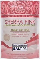 Sherpa Pink Gourmet Himalayan Salt, 5lbs Extra-Fine Grain. Incredible Tas...