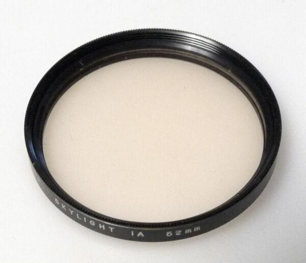 (prl) Spiralite Slylight 1a 52 Mm Filtro Foto Photo Filter Filtre Filtar Filtru