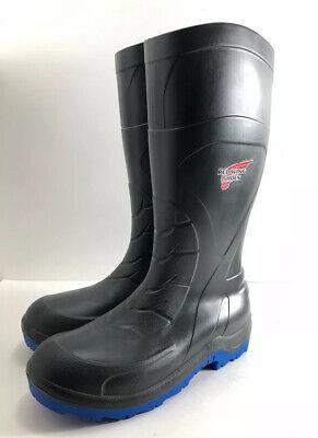 11 Steel Toe Black Blue Oil Resistant